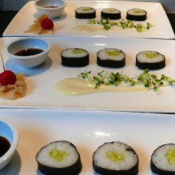Hoso-Maki met gemarineerde komkommer