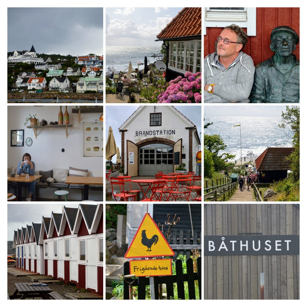 Mölle in Skäne, zuid-Zweden, brandstation en Ransvik.