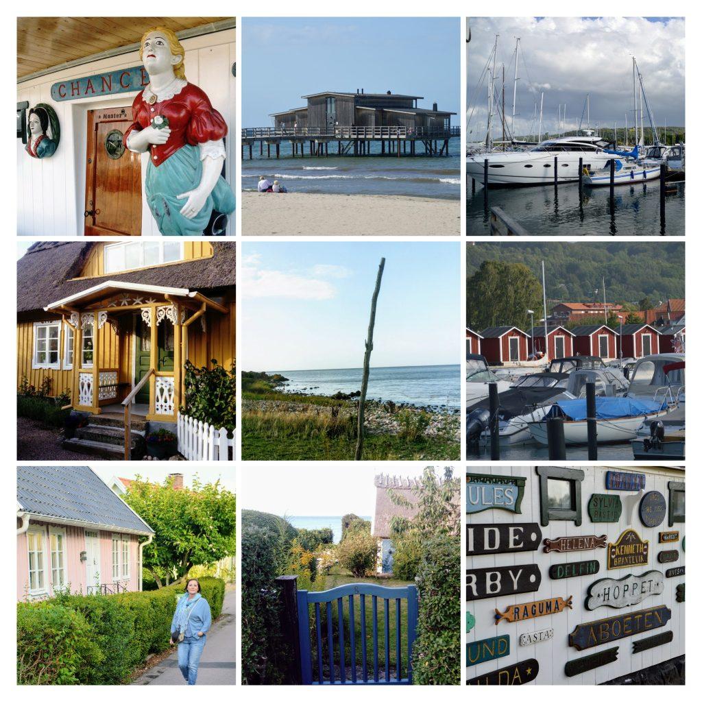 Skäne, Zuid-Zweden, kustlijn Arild, Torekov, Bastad