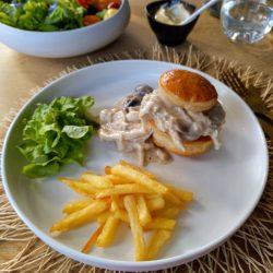 Glutenvrij kippenpasteitje of vol-au-vent