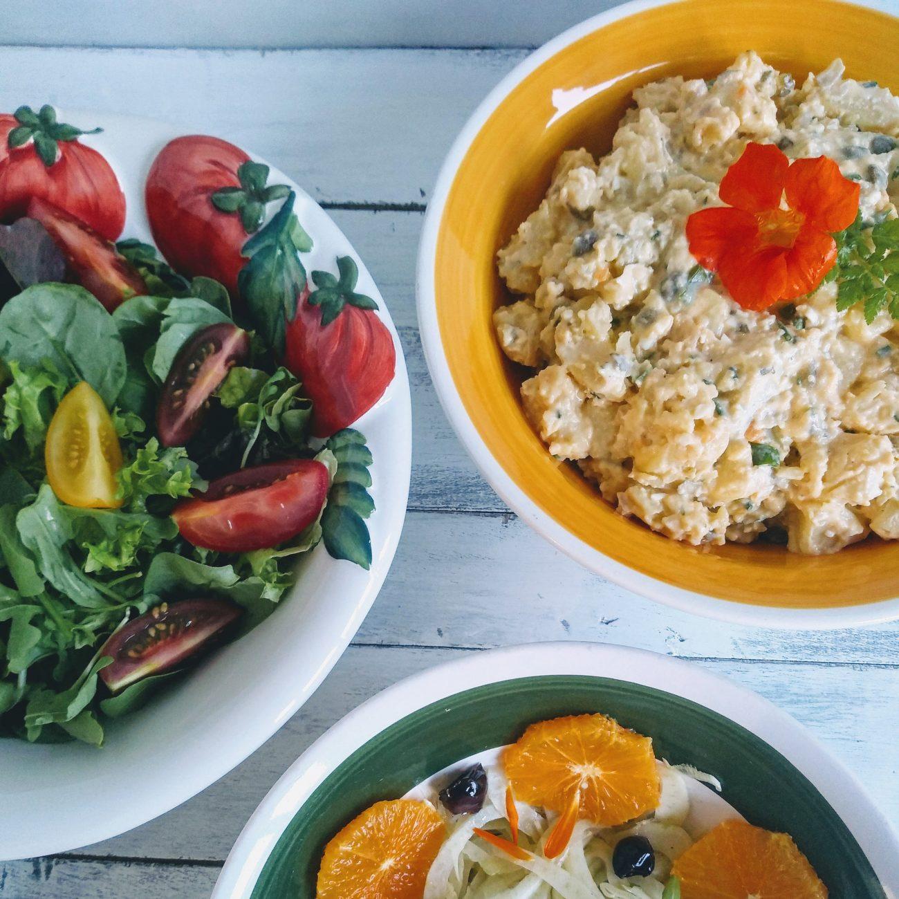 Onze fameuze aardappelsalade